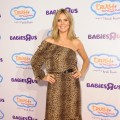 Heidi Klum attends her Truly Scrumptious collection at Babies 'R' Us at Babies in New York City on August 15, 2012