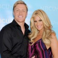 Kim Zolciak and Kroy Biermann arrive at the 2012 NBC Universal Summer Press Day at The Langham Huntington Hotel and Spa in Pasadena, Calif. on April 18, 2012