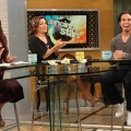 Apolo Anton Ohno stops by Access Hollywood Live on August 16, 2012
