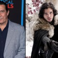 Ciaran Hinds, Kit Harington as Jon Snow
