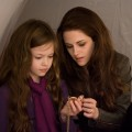 Mackenzie Foy and Kristen Stewart are seen in a scene from 'The Twilight Saga: Breaking Dawn — Part 2'
