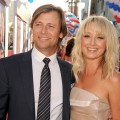 Grant Show and Katherine LaNasa arrive at the premiere of 'The Campaign' at Grauman's Chinese Theatre in Hollywood on August 2, 2012