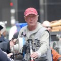 "Director Tony Scott on the set of ""The Taking of Pelham 1 2 3"" on May 11, 2008"
