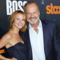Kelsey Grammer and Kayte Grammer arrive at the season premiere of 'Boss' in Hollywood, Calif. on October 6, 2011