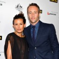 Surfer Malia Jones and Alex O'Loughlin arrive at the 9th Annual G'Day USA Los Angeles Black Tie Gala at the Hollywood & Highland Grand Ballroom, Hollywood, on January 14, 2012