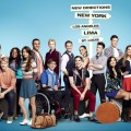 A cast shot for 'Glee' Season 4
