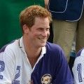 Prince Harry is seen at Cirencester Park Polo Club in Cirencester, England on August 5, 2012