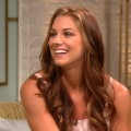Olympic soccer star Alex Morgan stops by Access Hollywood Live on August 28, 2012