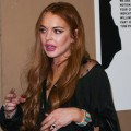 Lindsay Lohan attends the Will.i.am album wrap party at Avalon, Hollywood, on August 13, 2012