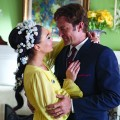 Lindsay Lohan and Grant Bowler in &#8216;Liz &amp; Dick&#8217;