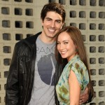 Brandon Routh and actress Courtney Ford attend the premiere of HBO&#8217;s &#8216;True Blood&#8217; at ArcLight Cinemas Cinerama Dome in Hollywood on June 21, 2011