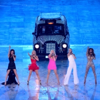 The Spice Girls perform during the Closing Ceremony on Day 16 of the London 2012 Olympic Games at Olympic Stadium on August 12, 2012