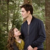 Breaking Dawn 4Mackenzie Foy and Robert Pattinson are seen in a scene from 'The Twilight Saga: Breaking Dawn — Part 2'