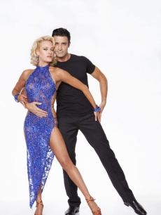 &#8216;Dancing with the Stars: All-Stars&#8217; promo photo with Gilles Marini and Peta Murgatroyd