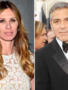 Carole Radziwill / George Clooney