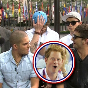 The Wanted: Do They Think Prince Harry Is Too Wild?