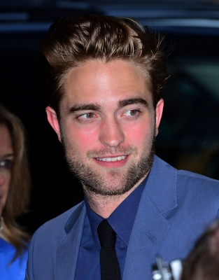 Robert Pattinson arrives to the 'Cosmopolis' premiere at the Museum of Modern Art, New York City, on August 13, 2012