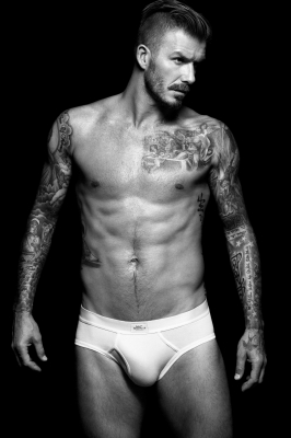 David Beckham in a shot for H&amp;M&#8217;s David Beckham Bodywear collection, August 2012