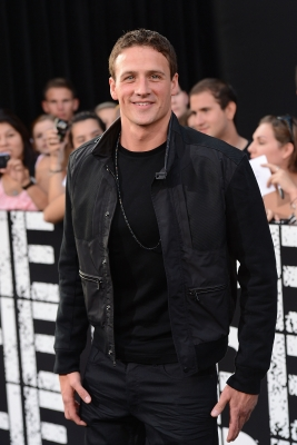 Ryan Lochte is seen at the' 'The Expendables 2' premiere in Hollywood, Calif. on August 15, 2012