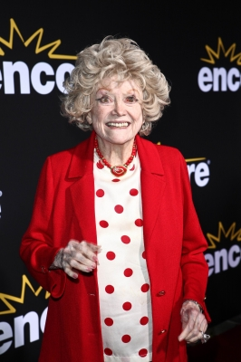 Phyllis Diller arrives at the 'Method to the Madness of Jerry Lewis' premiere at Paramount Theater on the Paramount Studios lot in Hollywood on December 7, 2011