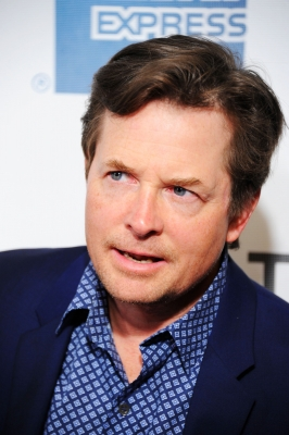 Michael J. Fox attends 'The Avengers' Premiere, Closing Night Of The Tribeca Film Festival Sponsored By Bombay Sapphire on April 28, 2012