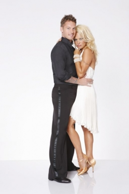 'Dancing with the Stars: All-Stars' promo photo with Pamela Anderson and Tristan McManus