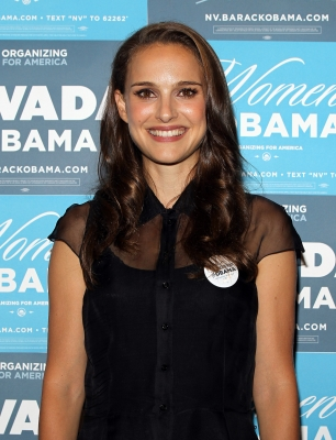 Natalie Portman attends the Nevada Women Vote 2012 Summit in Las Vegas on August 25, 2012