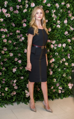 Rosie Huntington-Whitely seen looking gorgeous at the press launch of her M&S lingerie collection 'Rosie for Autograph' at the Mable Arch M&S in London on August 30, 2012