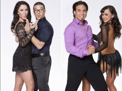 'Dancing with the Stars: All-Stars' promo photos with Bristol Palin and Mark Ballas / Apolo Anton Ohno and Karina Smirnoff