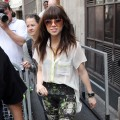 Carly Rae Jepsen is seen at BBC Radio One in London on September 4, 2012