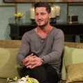 Val Chmerkovskiy stops by Access Hollywood Live on September 5, 2012