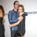 Director Michael Polish and Kate Bosworth attend the listening party for Paul Banks' album 'Julian Plenti Lives…' at Sonos Studio, Los Angeles, on September 1, 2012