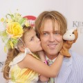 Dannielynn Birkhead and her father, Larry Birkhead, attend the 138th Kentucky Derby at Churchill Downs, Louisville, KY, on May 5, 2012