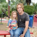 Dannielynn Birkhead and photographer Larry Birkhead attend a pre-Father&#8217;s Day Mini Golf Open celebrating the summer launch of the Britax Baby Carrier hosted by Britax and Baby Buggy at Castle Park, Sherman Oaks, on June 11, 2011