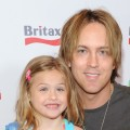 Dannielynn Birkhead and photographer Larry Birkhead attend a pre-Father's Day Mini Golf Open celebrating the summer launch of the Britax Baby Carrier hosted by Britax and Baby Buggy at Castle Park, Sherman Oaks, on June 11, 2011