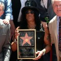 Slash Gets His Star On The Hollywood Walk Of Fame