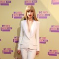 Taylor Swift arrives at the 2012 MTV Video Music Awards at Staples Center, Los Angeles, on September 6, 2012