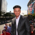 DJ Pauly D arrives at the 2012 MTV Video Music Awards at Staples Center, Los Angeles, on September 6, 2012