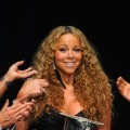 Mariah Carey attends the 12th Annual BMI Urban Awards at Saban Theatre in Beverly Hills on September 7, 2012 