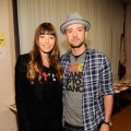 Jessica Biel and Justin Timberlake attend Stand Up To Cancer at The Shrine Auditorium in Los Angeles on September 7, 2012