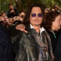 Johnny Depp attends the 'West Of Memphis' premiere during the 2012 Toronto International Film Festival at Ryerson Theatre in Toronto on September 8, 2012