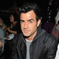 Justin Theroux spotted at the Alexander Wang show during Spring 2013 Mercedes-Benz Fashion Week at Pier 94 in New York City on September 8, 2012