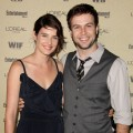 Cobie Smulders and Taran Killam arrive at the 2010 Entertainment Weekly and Women In Film Pre-Emmy party sponsored by L'Oreal Paris at Restaurant at The Sunset Marquis Hotel in West Hollywood on August 27, 2010