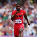 Justin Gatlin of the United States competes in the Men&#8217;s 100m Round 1 Heats on Day 8 of the London 2012 Olympic Games at Olympic Stadium on August 4, 2012 in London, England
