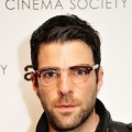Zachary Quinto attends the Cinema Society with Linda Wells & Allure screening of DreamWorks Studios' 'People Like Us' at Clearview Chelsea, New York City, Cinemas on June 25, 2012