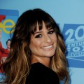 Lea Michele arrives at the premiere of Fox Television&#8217;s &#8216;Glee&#8217; at Paramount Studios in Los Angeles on September 12, 2012
