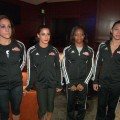 The Fab Five Have A Blast On Kellogg's Tour Of Gymnastics Champions