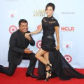 George Lopez and Eva Longoria arrive at the NCLR 2012 ALMA Awards held at Pasadena Civic Auditorium in Pasadena, Calif. on September 16, 2012