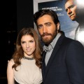 Anna Kendrick and Jake Gyllenhaal arrive at the premiere of 'End of Watch' at Regal Cinemas L.A. Live in Los Angeles on September 17, 2012