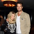 Fergie and Josh Duhamel step out at the ELLE and Sundance Channel's 'All on the Line with Joe Zee' celebration in West Hollywood, Calif. on September 19, 2012